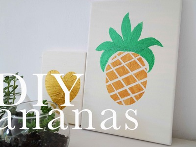 Quadretto con Ananas | DIY Saturday | CasaSuperStar