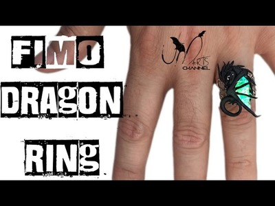 Anello con drago - Tutorial Fimo - DIY