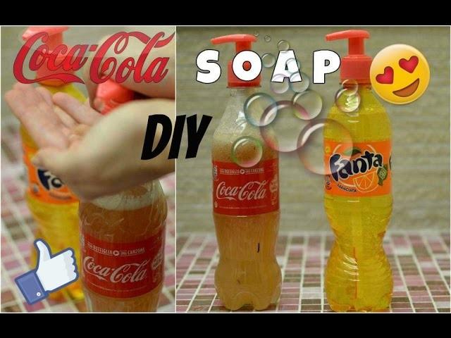 SAPONE ALLA COCA COLA FAI DA TE diy coca cola soap