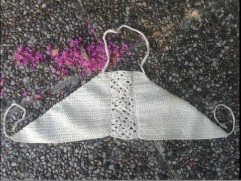 Canottiera Alluncinetto Come Fare Passo Passo 3 Crop Top Crochet