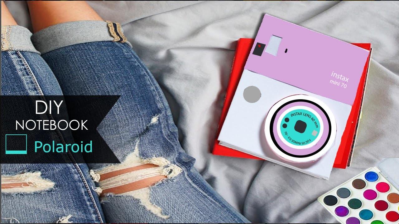 DIY Notebook ❏ Polaroid