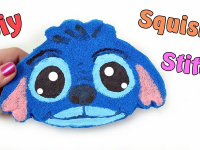 SQUISHY FATTO IN CASA! Stitch Squishy fatto a mano DIY !Tutorial ✿