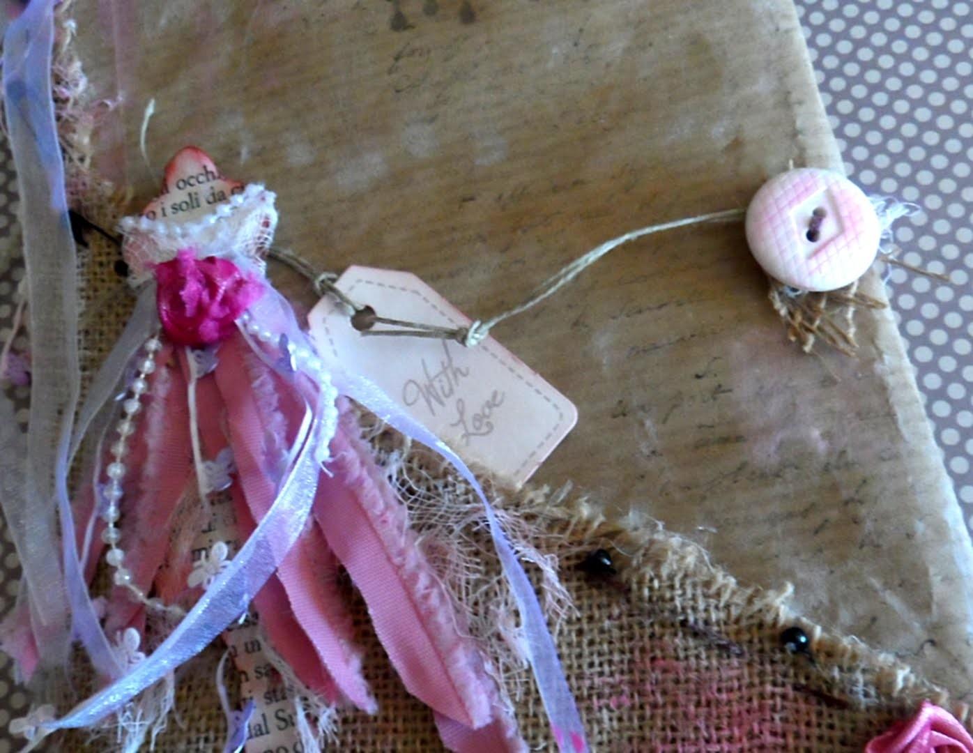 Tuto:  Agenda. Notebook.Vintage Dress. Junk  book.DIY. 2 parte