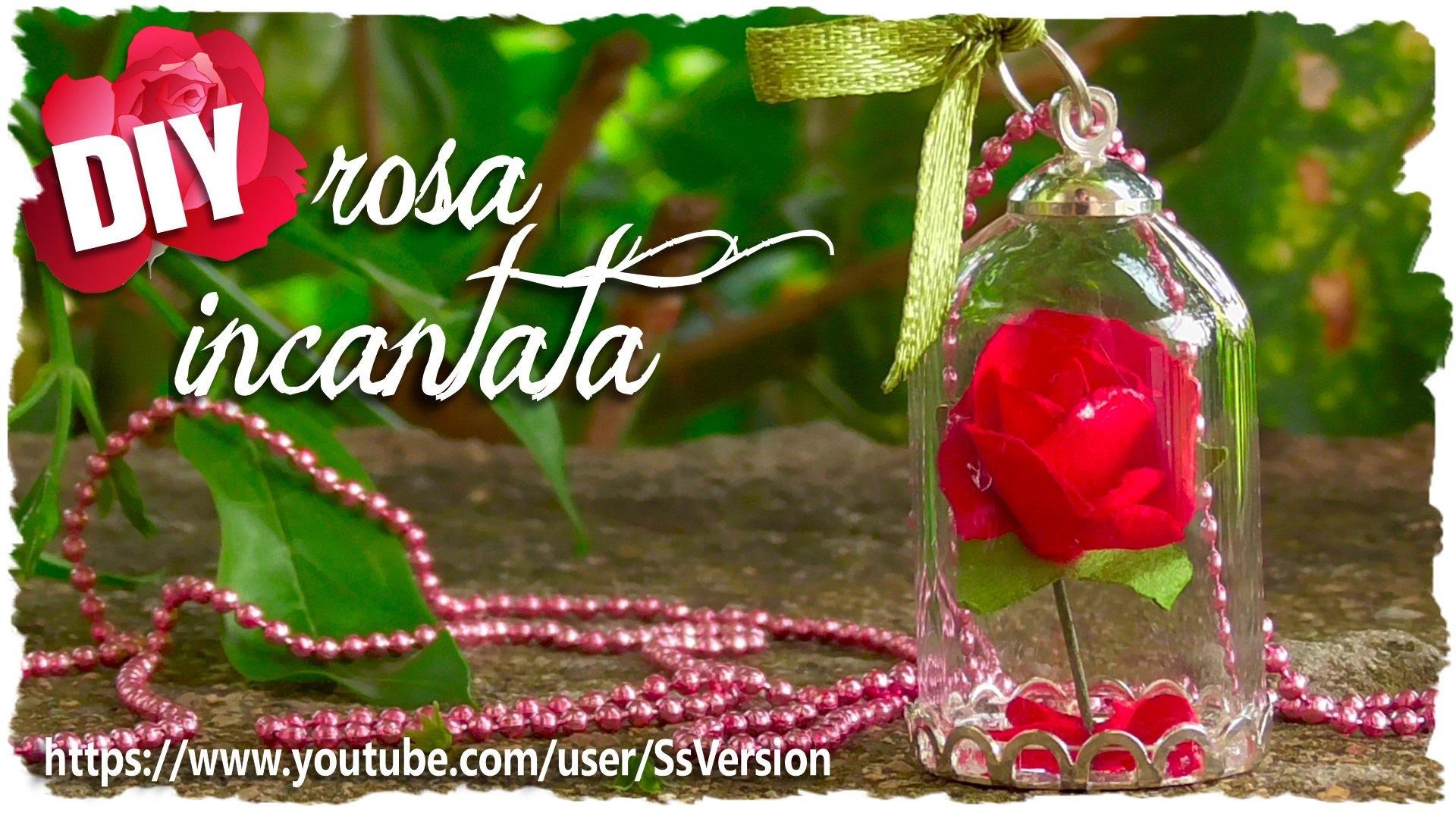 Tutorial: Rosa Incantata | DIY Miniature Enchanted Rose ♥ the Beauty and the Beast