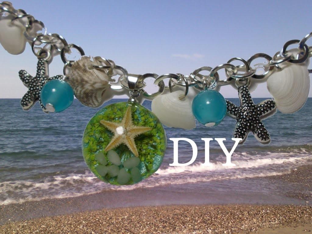 Bracciale Fai da Te con Ciondoli ispirati al Mare | DIY Sea inspired Bracelet