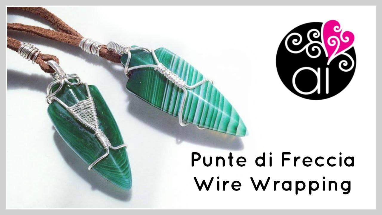 Wire Wrapping Tutorial | Punte di Freccia | Regali da uomo