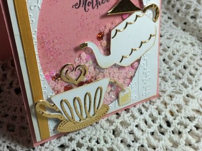 A Nice Cuppa ( timbri e dies Stampin'up)- Scrapbooking Tutorial   Scrapmary