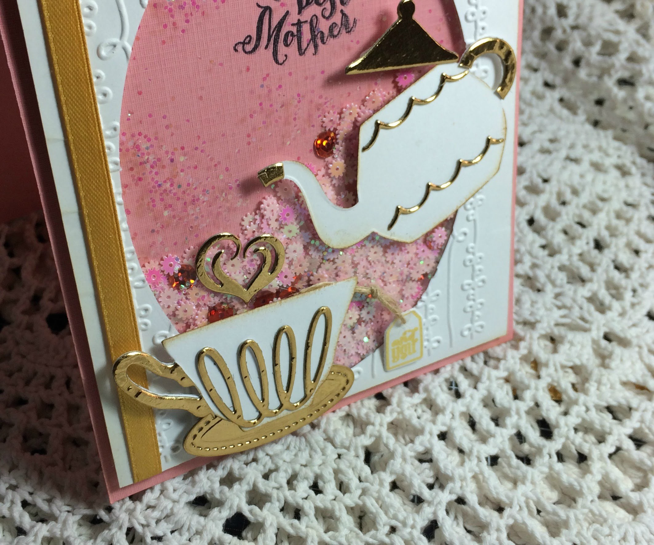 A Nice Cuppa ( timbri e dies Stampin'up)- Scrapbooking Tutorial | Scrapmary