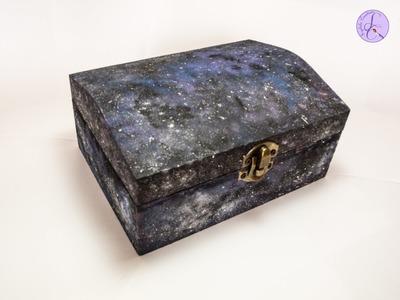Tutorial: Scatola di Legno Effetto Galassia (galaxy wooden box)