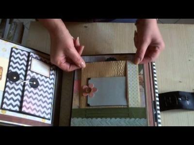 Mini album 8x8 Cosmo Crichet