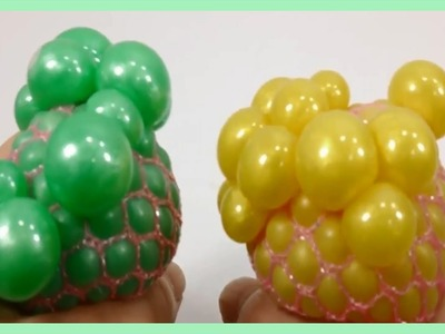 Come fare colorata Slime Balloon Squishy palla antistress | Giochi Per Bambini