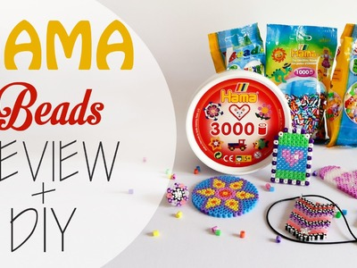 Perline da stirare Hama beads - Review + Diy (collab. perlinedastirare.it)