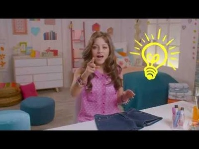 Soy Luna DIY Do it yourself - Lunatizza la tua estate - Tutorial Shorts personalizzati - #soylunadiy