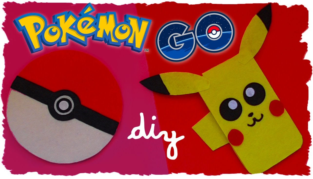 Tutorial: Pikachu e Pokeball Astuccio in Feltro | DIY Pokémon Go Inspired Felt Case