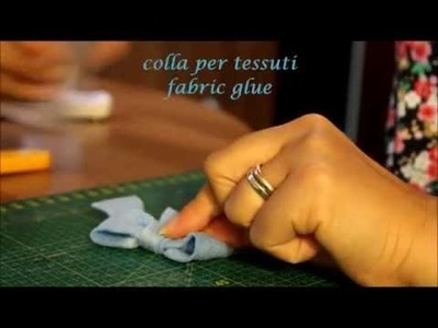 Fiocco fai da te in 3 minuti (bow DIY in 3 minutes)
