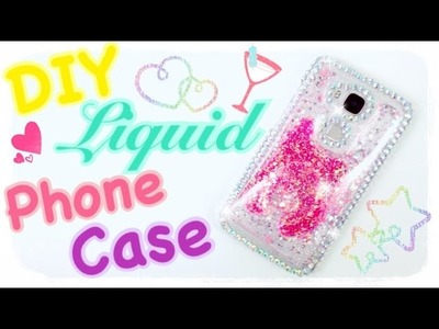 DIY LIQUID LAVA PHONE CASE