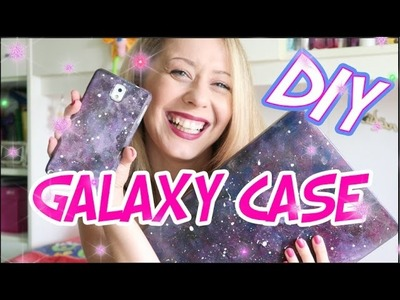 EASY GALAXY DIY - PHONE CASE | MartharossiTv