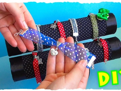 Tutorial: Bracciali con ciondoli e nastri colorati | DIY EASY BRACELET WITH COLORED RIBBONS