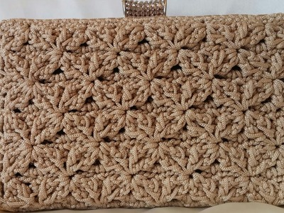 CLUTCH Tutorial passo passo - Crochet