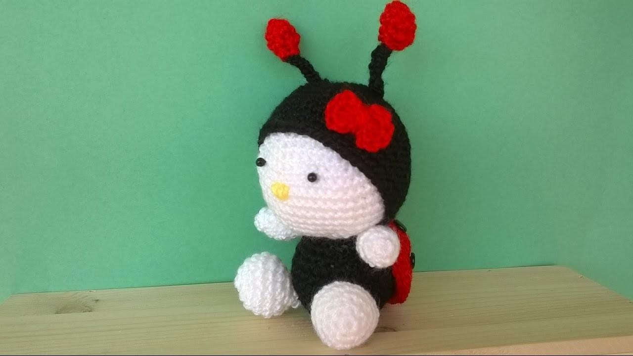 Amigurumi Uncinetto Tutorial : Tutorial Coccinella Uncinetto -Amigurumi Ladybug Crochet ...