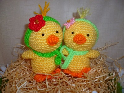 Tutorial Paperella Uncinetto - Papera Amigurumi Duck Crochet - Pato Crochet
