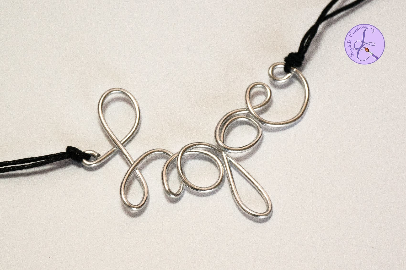 """Tutorial: Parola """"Hope"""" in Wire (ENG SUBS - DIY pendant wire word hope)"""