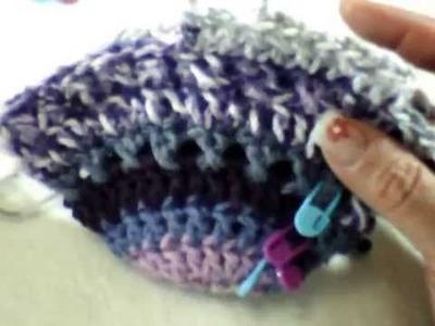 Manta Sirena a Crochet (DIESTRO) PARTE 1