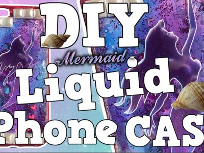 DIY Mermaid LIQUID IPhone Case (ITALIANO). Pikatea ⚡️