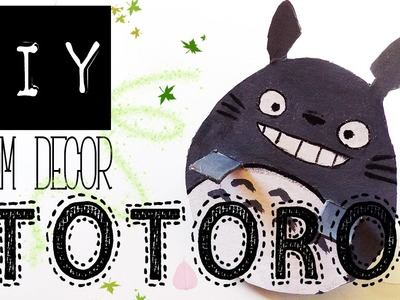 DIY Room Decor 2016 - Totoro frame