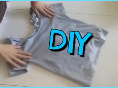 DIY: Come modificare una maglietta