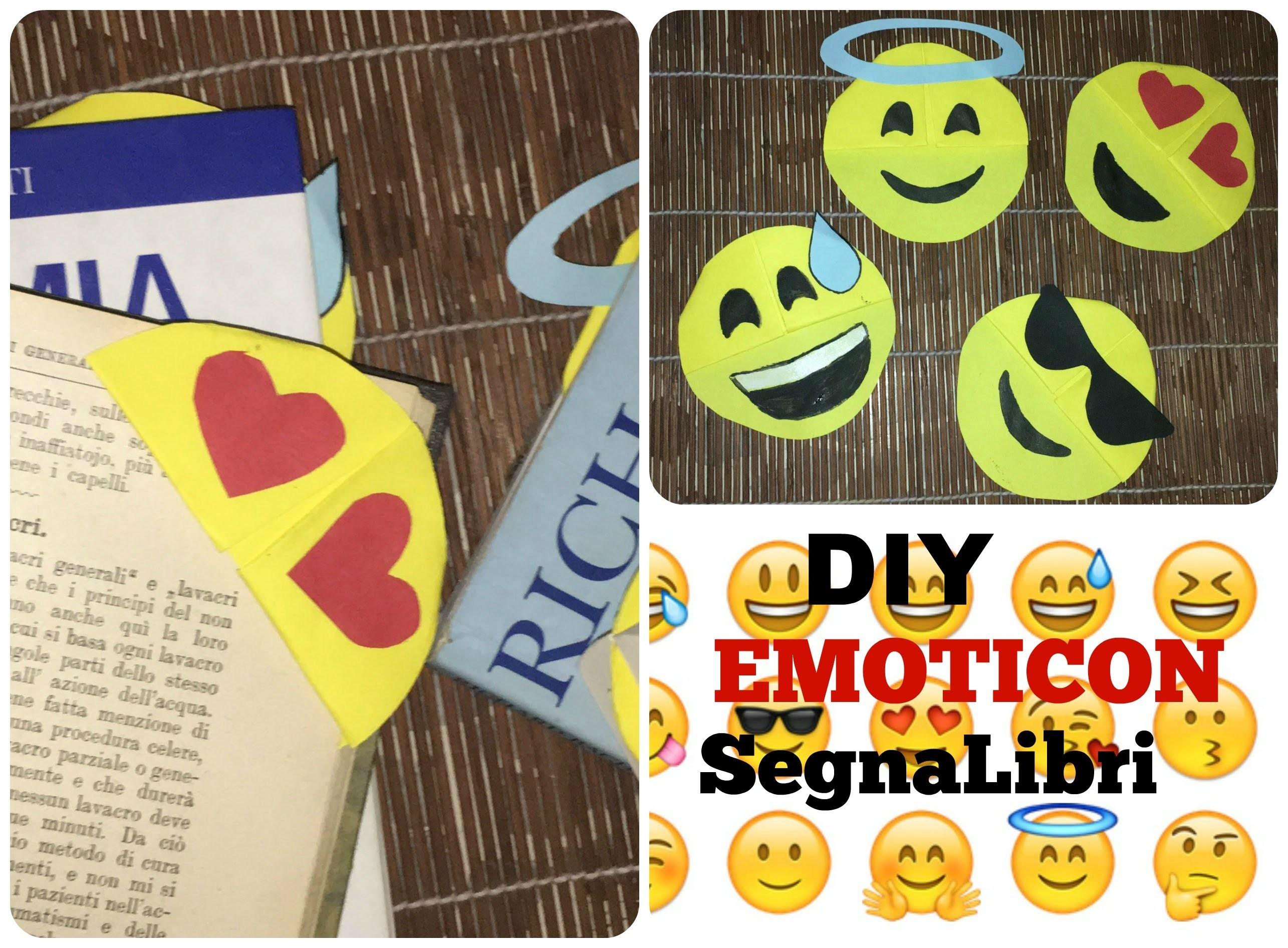 DIY Emoticon Segnalibri | Semplice (con la Carta)