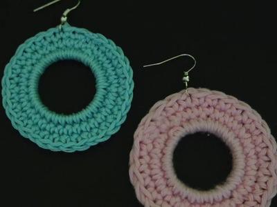 Orecchini all'uncinetto| crochet earings |