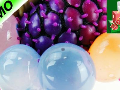 Rainbow Squishy Mesh Ball! Pallina anti-stress super colorata!