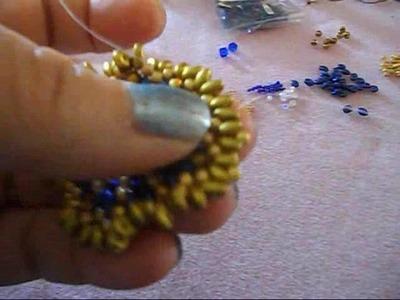 Tutorial orecchini Dubai  in collaborazione con Perline Bijoux