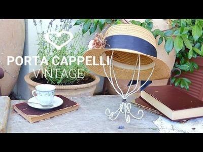 Tutorial: Come realizzare un porta cappelli fai da te in stile vintage - La Figurina