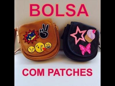 BOLSA PERSONALIZADA COM PATCHES - DIY