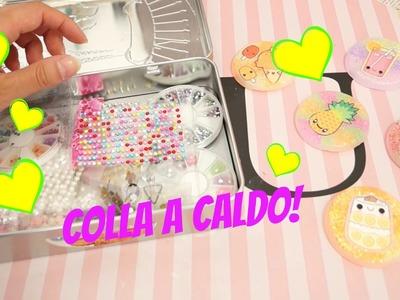 RIFINIAMO ASSIEME LE CREAZIONI IN COLLA A CALDO | DIY