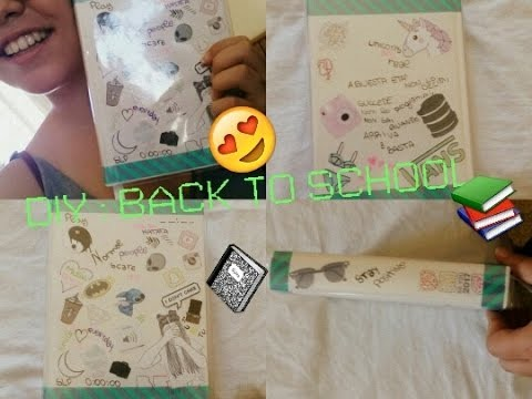 DIY BACK TO SCHOOL ||TUMBLR INSPIRED||How to decorate a BEU Diary ||Sofia