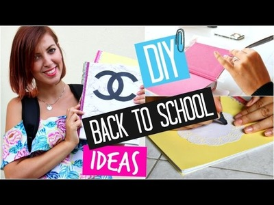 DIY Back To School Supplies You NEED To Try ✎ ITA