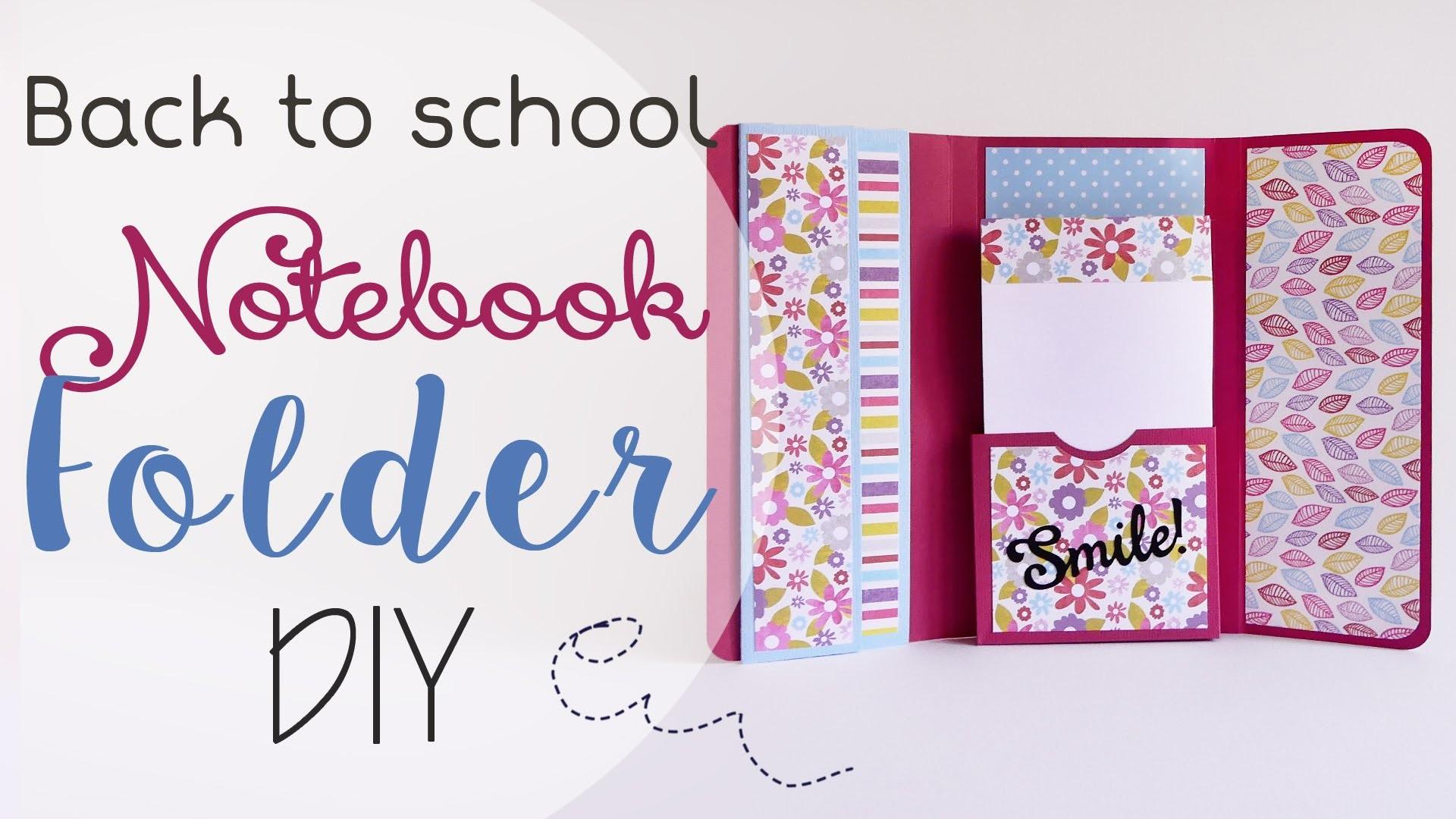Scuola: Cartella porta Appunti - ENG SUBS School: Notebook Folder DIY