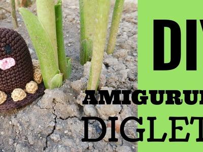 Diy DIGLETT amigurumi - video collaborazione