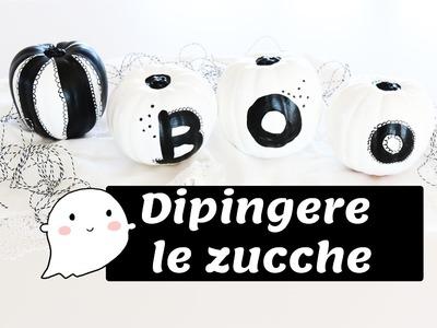 DIY Halloween: DIPINGERE LE ZUCCHE