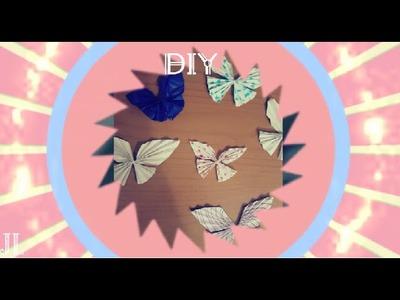 DIY Room Decor || Paper Butterfly | Semplicissimo