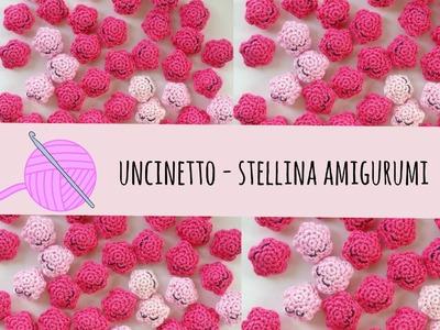 Tutorial uncinetto - stella amigurumi § crochet star amigurumi pattern