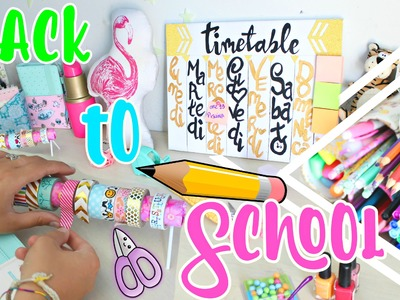 DIY BACK TO SCHOOL ITA! Organizzazione & Room Decor! [SUB ENGL]  #DIYConNancy | Nancy Joli Bijoux