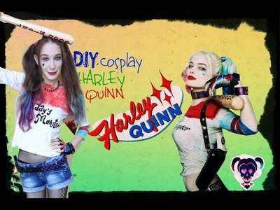 Diy Harley Quinn costume cosplay