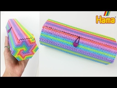 TUTORIAL: ASTUCCIO RAINBOW con HAMA BEADS || Back To School (collab. Perlinedastirare.it)