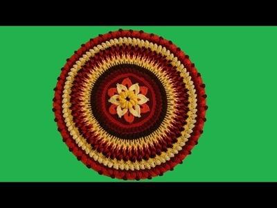 Mandala overlay all'uncinetto II di II - Tutorial passo a passo - crochet Mandala overlay