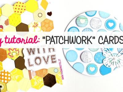 "DIY: ""Patchwork"" Cards"