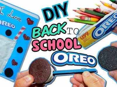 QUADERNO SLIME OREO,ASTUCCIO,TEMPERINO, GOMMA (DIY BACK TO SCHOOL OREO) Iolanda Sweets
